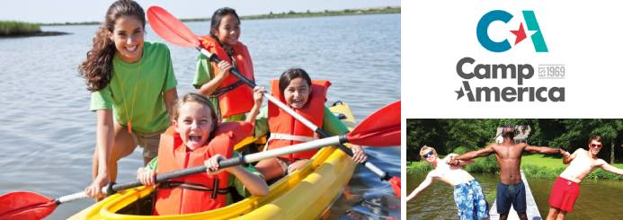 Work on a Summer Camp in the USA - Watersports Instructor