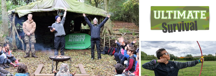 Ultimate Survival-Course Instructor & Course Leader (Bushcraft and multi activity)