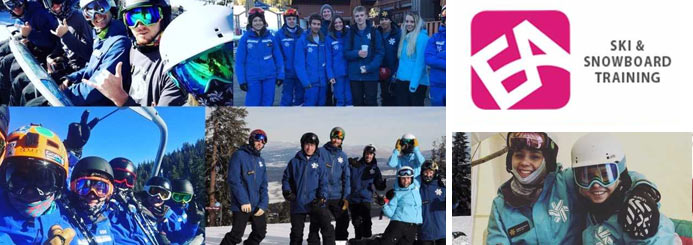 Become a qualified ski instructor - Train, qualify and work all in one season