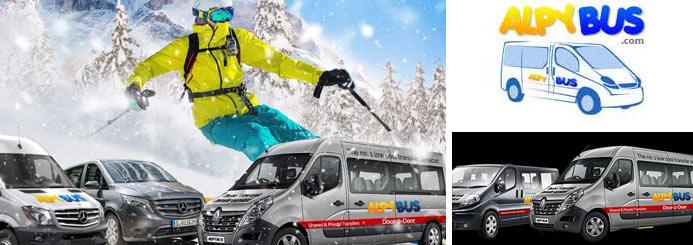 ski jobs with Alpy Bus