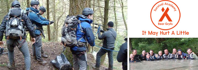 adventure jobs with Bear Grylls Survival Academy