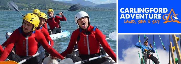adventure jobs with Carlingford Adventure Centre