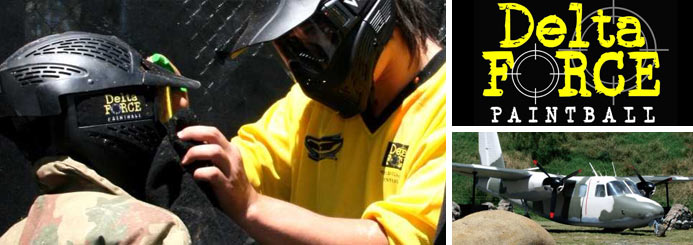 adventure jobs with Delta Force Paintball