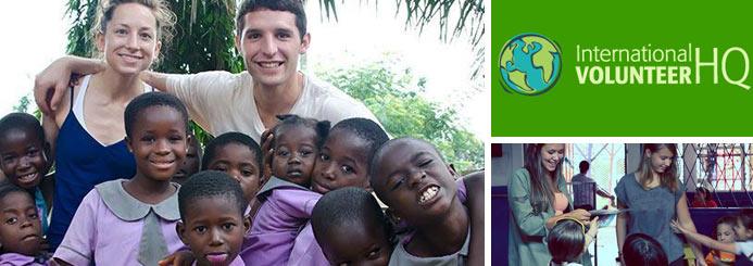 gap year jobs with International Volunteer HQ