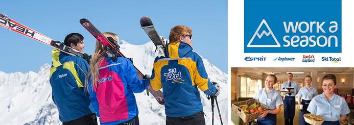 ski jobs with Workaseason
